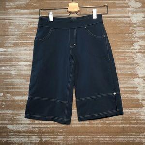 Athleta Capri Yoga Blue Shorts Sz XS